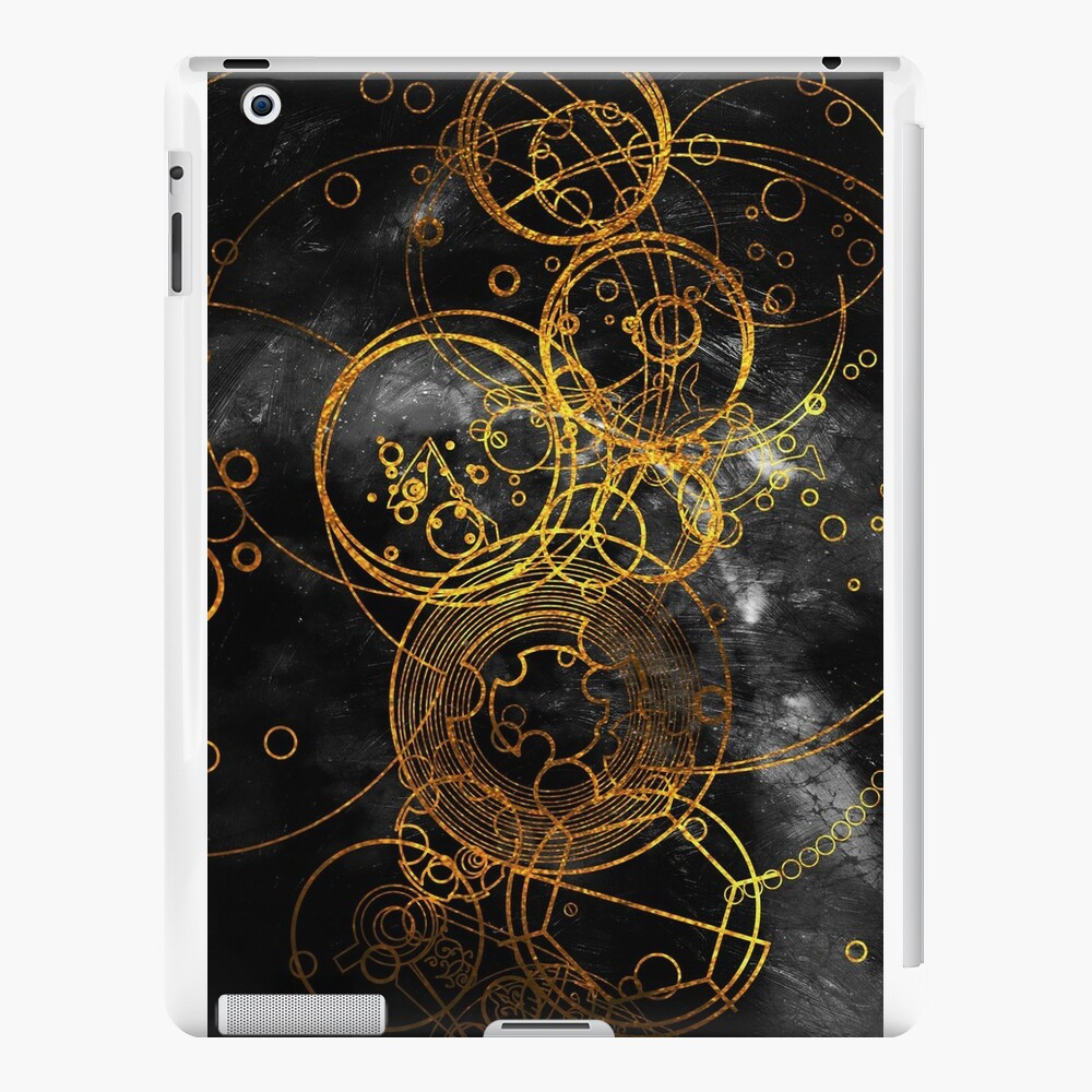 Time Lord Writing (black) iPad Cases & Skins