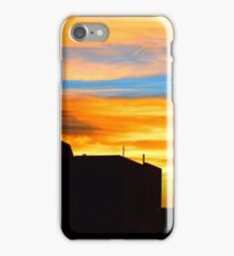 Sunset in downtown Denver iPhone Case/Skin