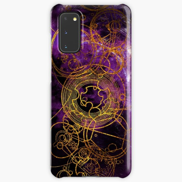 Time Lord Writing (purple) Samsung Galaxy Snap Case