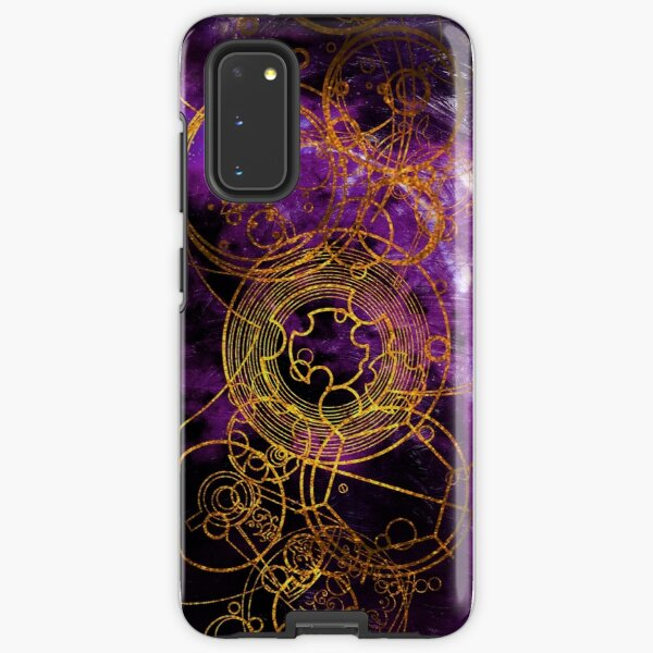 Time Lord Writing (purple) Samsung Galaxy Tough Case