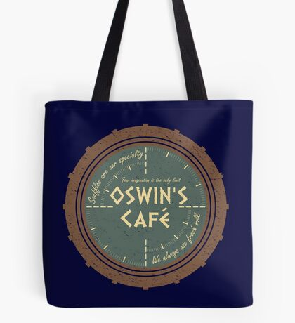 Oswin's Cafe Tote Bag