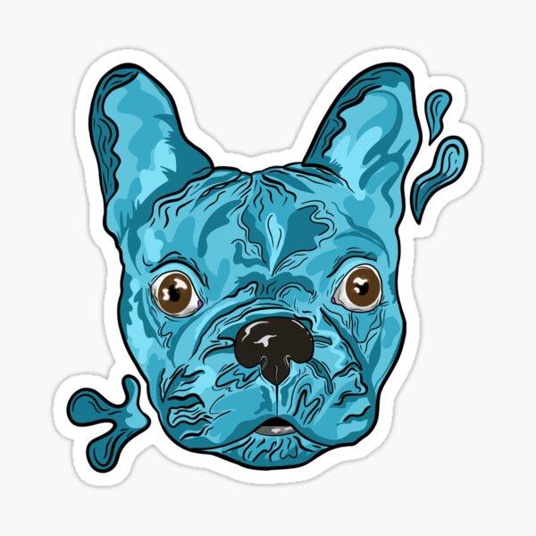 Frank the French Bulldog Sticker