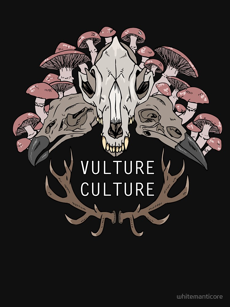 Vulture Culture by whitemanticore