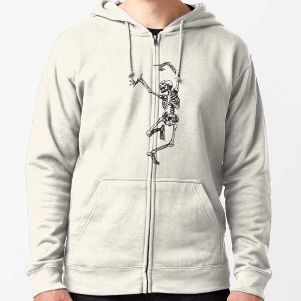 Dance With Death Zipped Hoodie