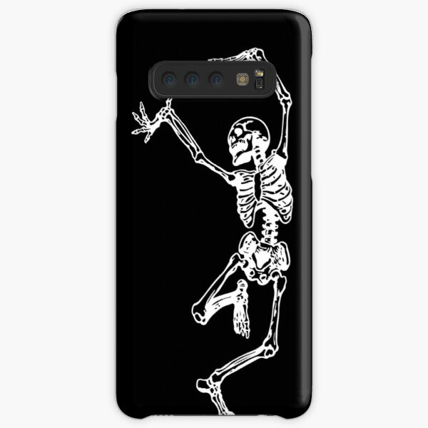 Dance With Death (white) Samsung Galaxy Snap Case