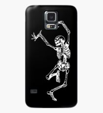 Tanz mit dem Tod (weiß) Hülle & Klebefolie für Samsung Galaxy