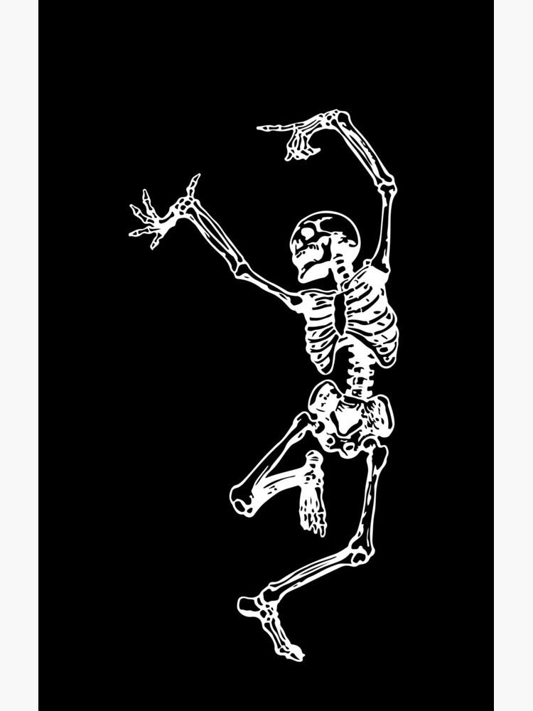 Tanz mit dem Tod (weiß) von TheWhiteBear