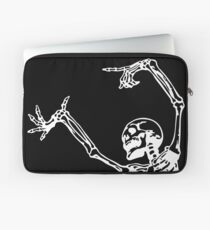 Dance With Death (white) Laptop Sleeve