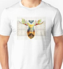Mystic Moose Art by Sharon Cummings Unisex T-Shirt