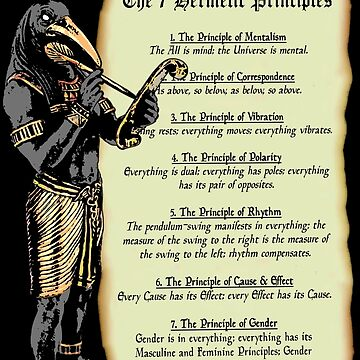 Thoth and The 7 Hermetic Principles by SigilSorcery