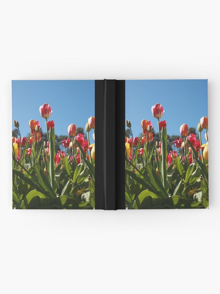 Alternate view of Tulips at Araluen Hardcover Journal