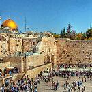 The Wailing Wall, Jerusalem by NeilAlderney