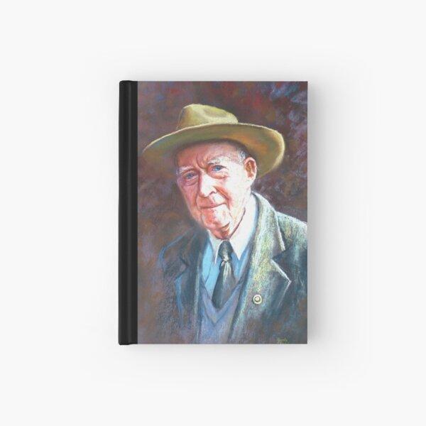 'Portrait of Tom Tehan' Hardcover Journal