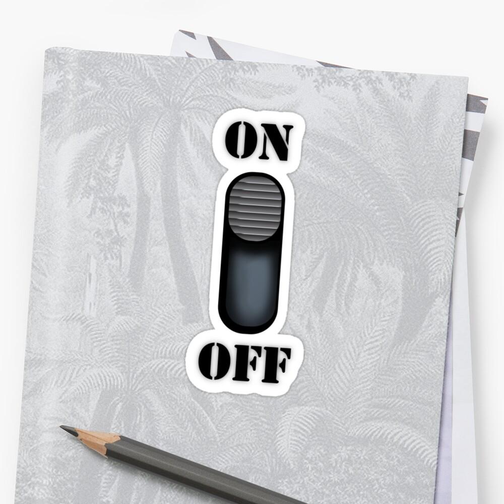 On/Off by Iain Maynard