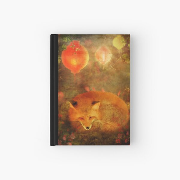Fox Dreams Hardcover Journal