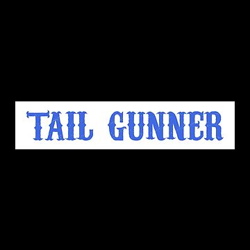Tail Gunner Patch - Sons Of Anarchy by superkickparty