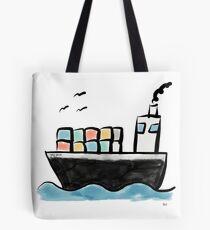 Containerschiff   von Andy's Aeronauts Tasche