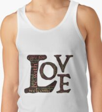 Be with Love Men's Tank Top
