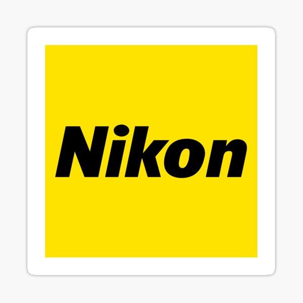 Nikon Clean-Logo Sticker