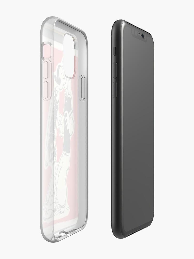 Funda iPhone 6 Plus Popeye Transparente en 2020 Funda iphone 6