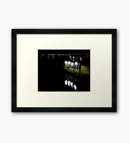Four Wishes Framed Print