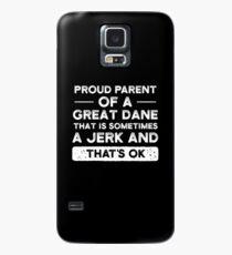 Stolzes Elternteil einer Deutschen Dogge, Deutsche Dogge Mutter, Deutsche Dogge Hülle & Klebefolie für Samsung Galaxy