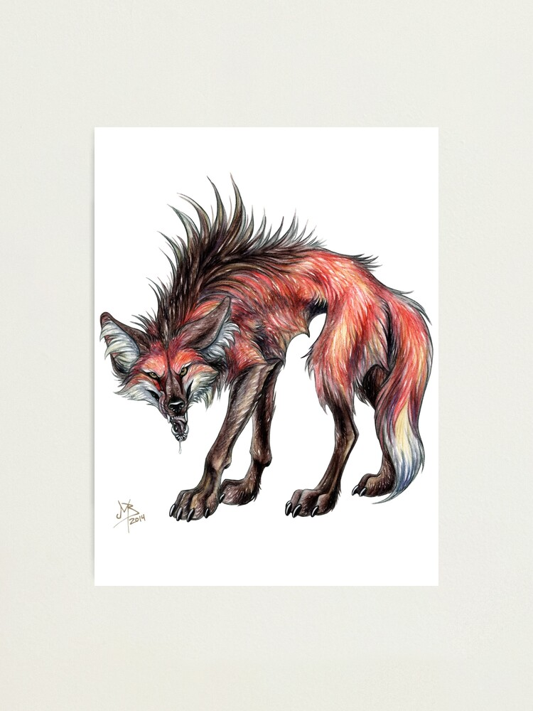 Alternate view of Big Bad Wolf (Clean) Photographic Print