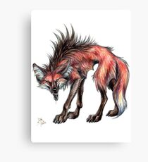Big Bad Wolf (Clean) Canvas Print