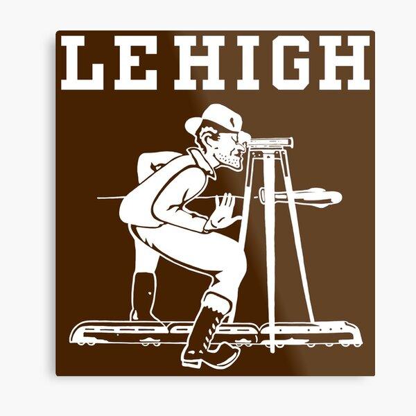 Lehigh Engineers Metal Print