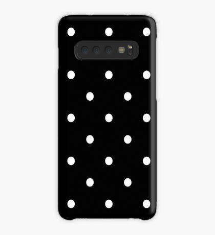 Polka Dots - Black and White Funda/vinilo para Samsung Galaxy