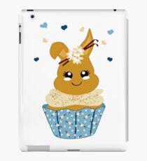 niedlicher Häschen Cupcake iPad-Hülle & Klebefolie