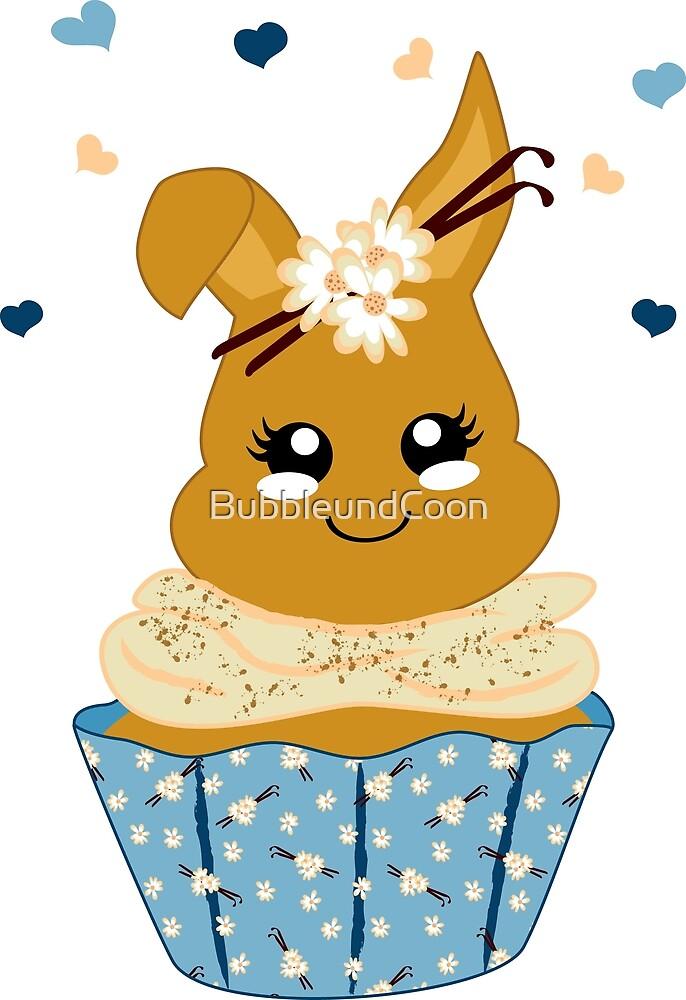 niedlicher Häschen Cupcake von Stefanie Keller