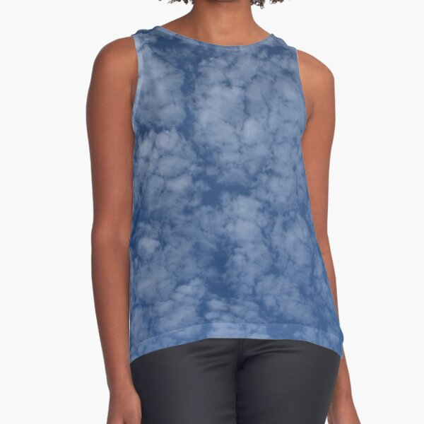 Altocumulus Abstract 2 Sleeveless Top