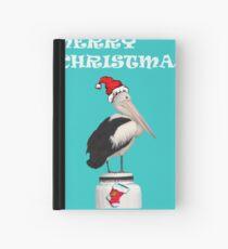 Merry Christmas Pelican Hardcover Journal