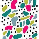 Glückliches abstraktes von Jacqueline Hurd