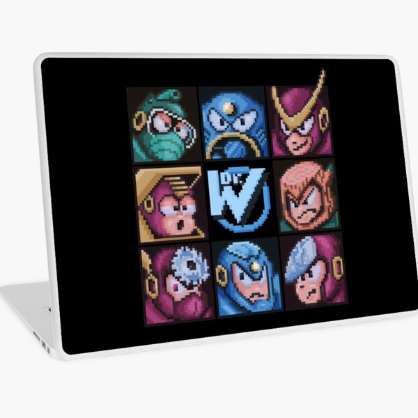 Mega Robot Bosses 2 Laptop Skin
