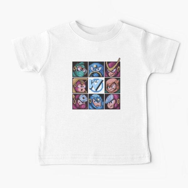 Mega Robot Bosses 2 Baby T-Shirt