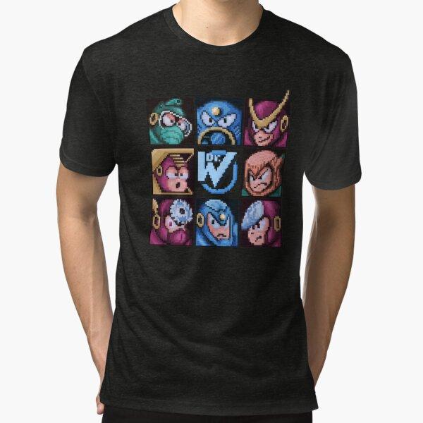 Mega Robot Bosses 2 Tri-blend T-Shirt
