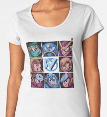 Mega Robot Bosses 2 Women's Premium T-Shirt