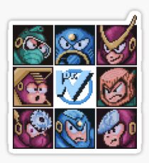 Mega Robot Bosses 2 Sticker