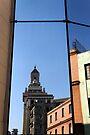 Reflection of Bacardi building, Havana, Cuba by David Carton