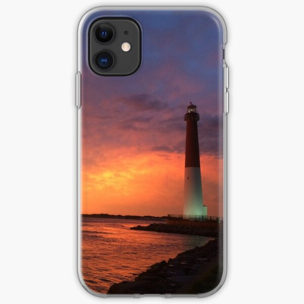 Old Barney at Sunset iPhone Soft Case