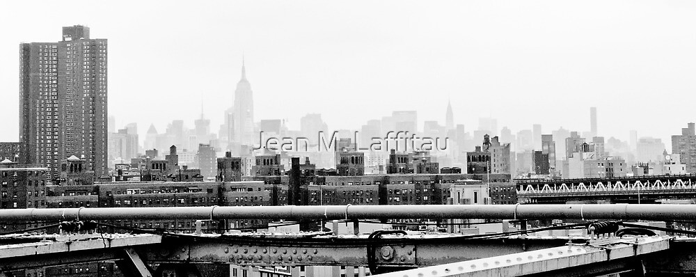Over the top by Jean M. Laffitau