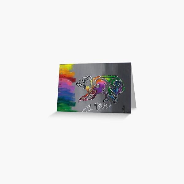 ᒥ ᐢ ᑕ ᒪ ᐢ ᑲ ᐤ- Mista Maskwa- Big Bear Greeting Card