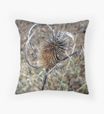 Curly Sue Throw Pillow