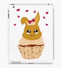 niedlicher Haselnuss Cupcake iPad-Hülle & Klebefolie