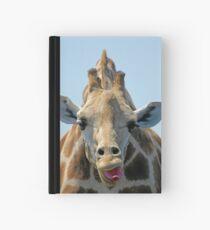 """I Don't Care"" Giraffe Card Hardcover Journal"