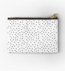 Black And White Polka Dot | pencilmeinstationery.com Zipper Pouch