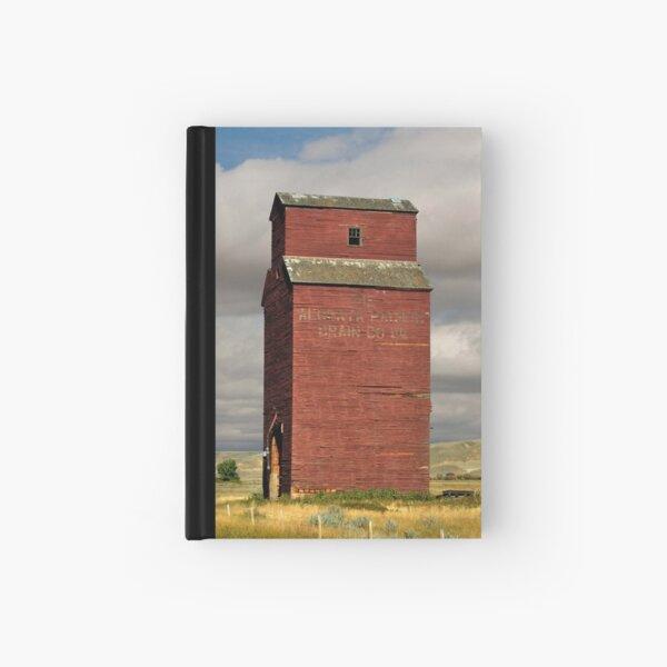 Grain Elevator Dorothy, Alberta Hardcover Journal