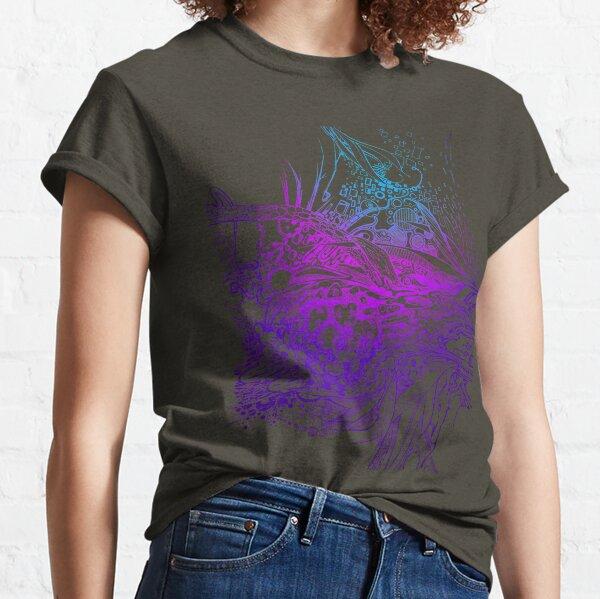 Multi-Dimensional Snake Eye - Illustration Classic T-Shirt